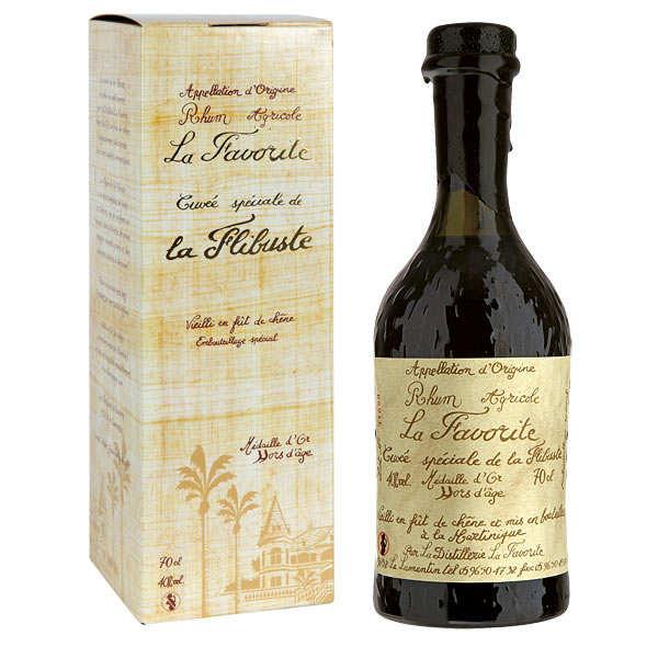 Rhum La Favorite - Cuvée de la Flibuste 1986 40%