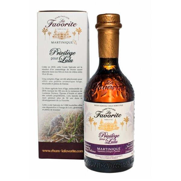 La Favorite rum Cuvée Privilège 40%