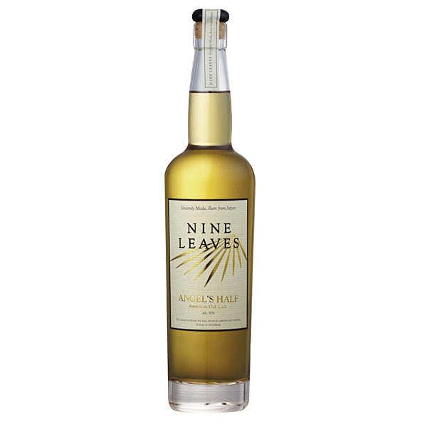Nine leaves Angel's Half American oak cask - Rum from japan 50%