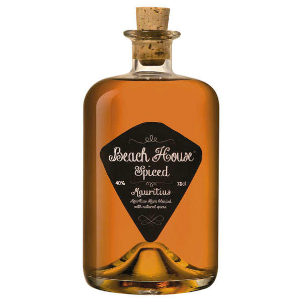 Beach house spiced rum from Mauritius 40%