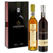 Portos Andresen - Andresen port wine gift box (2 bottles)