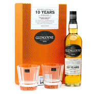 Glengoyne - Whisky Glengoyne 10 ans single malt coffret 2 verres 40%