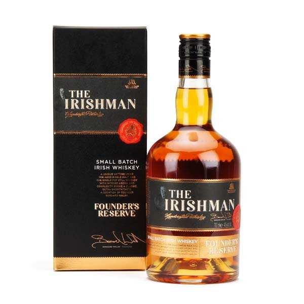 The Irishman Founder's Reserve whisky irlandais 40%