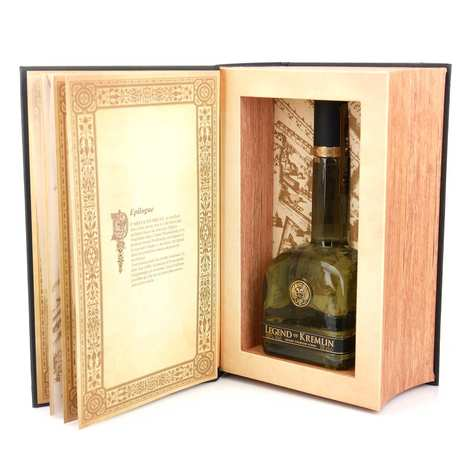 Legend Of Kremlin - Coffret cadeau livre Vodka Legend of Kremlin