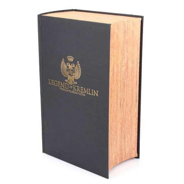 Coffret cadeau livre Vodka Legend of Kremlin