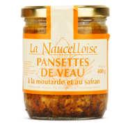 La Naucelloise - Pansettes de veau à la moutarde et au safran