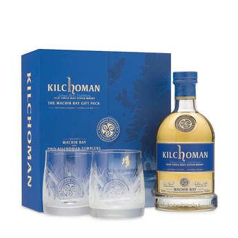 Kilchoman - Whisky Kilchoman Machir Bay coffret 2 verres - 46%