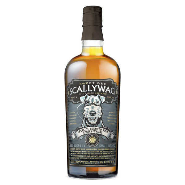 Scallywag blended malt whisky 46%