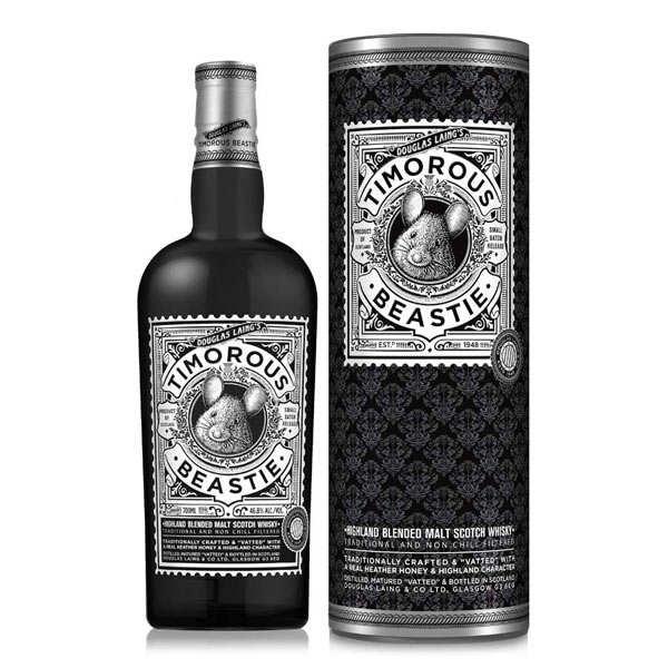Timorous Beastie malt whisky - 46.8%