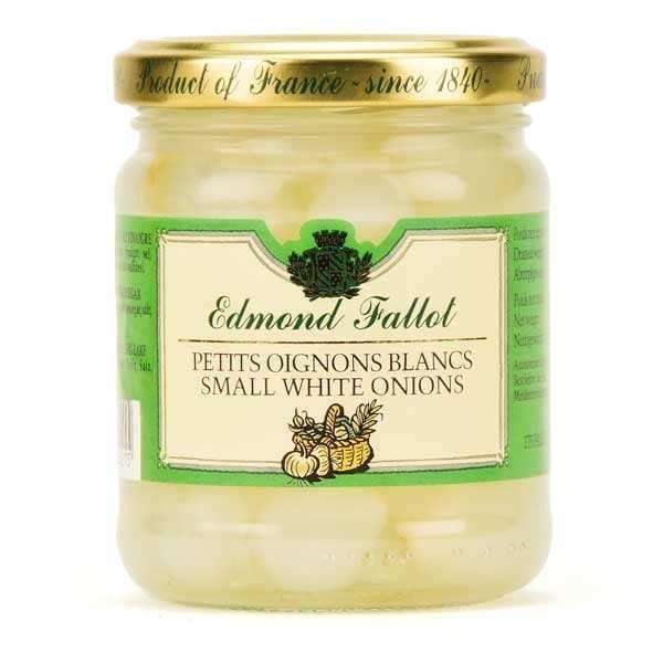 Small white onions in vinegar