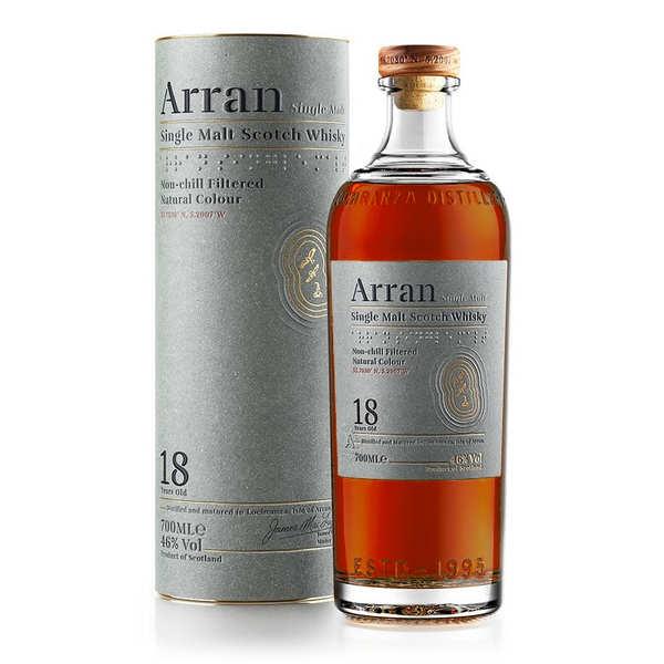 Whisky Arran single malt 18 ans 46%