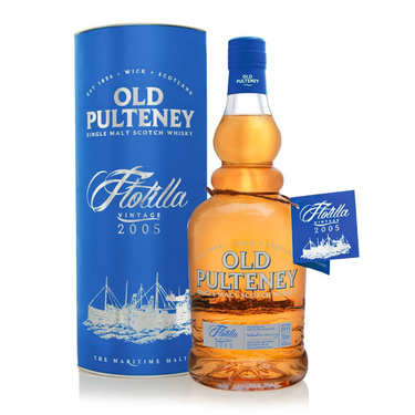 Old Pulteney whisky Flotilla 46%