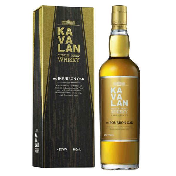 Kavalan ex bourbon oak - whisky taïwanais - 46%
