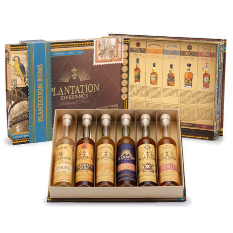 Plantation Rum - Coffret cadeau Plantation Rum - 6 rhums du monde