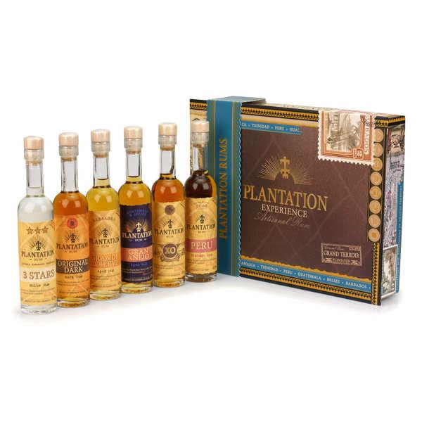 Coffret cadeau Plantation Rum - 6 rhums du monde