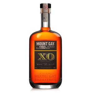 Mount Gilboa - Rhum Mount Gay extra gold XO - 43%