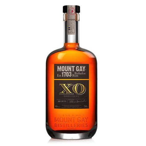 Mount Gilboa - Rhum Mount Gay XO reserve cask 43%