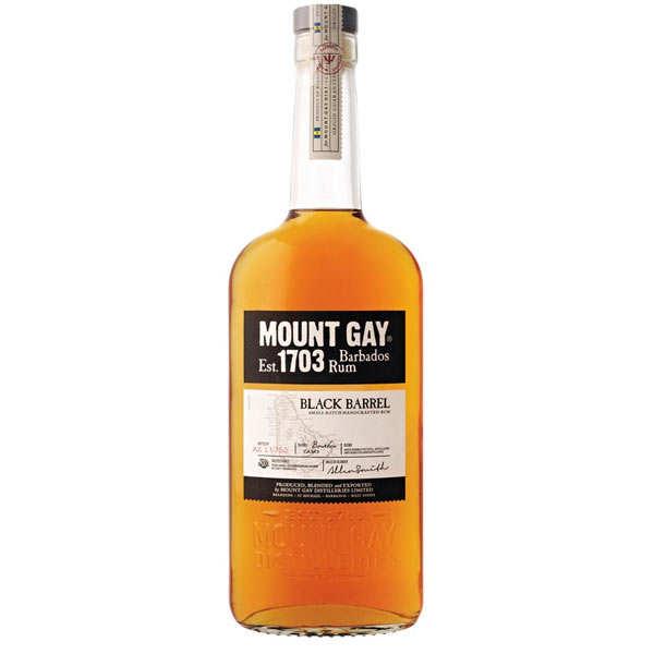 Rhum Mount Gay black barrel 1703 - 43%