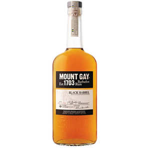 Mount Gilboa - Rhum Mount Gay black barrel 1703 - 43%
