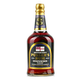 Pusser's - Rhum Pusser's Gunpowder 54.5%