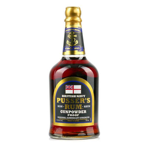 Rhum Pusser's Gunpowder 54.5%