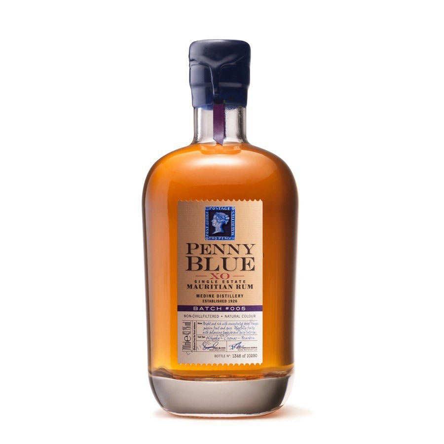 Penny Blue rum Batch #4 XO 43.3% (Mauritius)