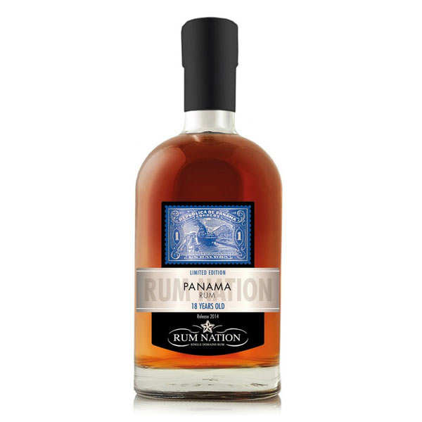 Rum Nation Panama 18 years Solera 40%