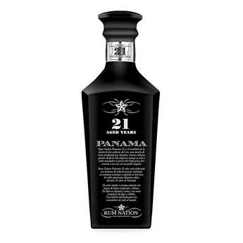 Rum Nation - Rum Nation Panama 21 years decanter 40%