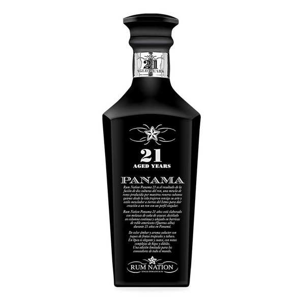 Rum Nation Panama 21 years decanter 40%