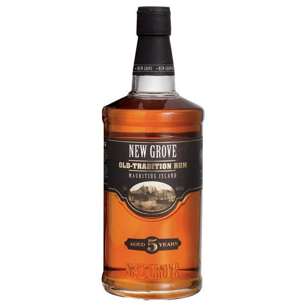 Rhum New Grove 5 ans Old Tradition - 40% (Ile Maurice)