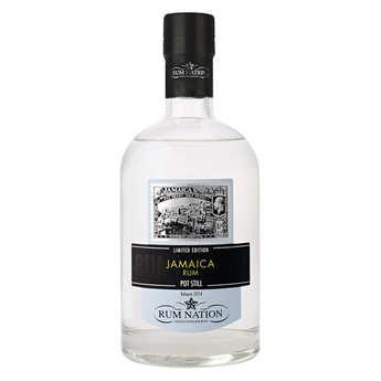 Rum Nation - Rhum blanc Jamaica Pot Still 57%