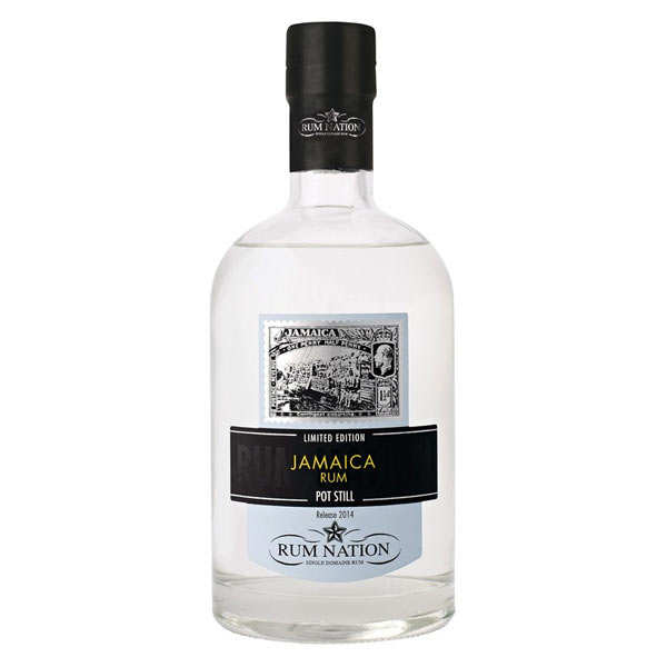 Rum Nation Jamaica White Pot Still 57%