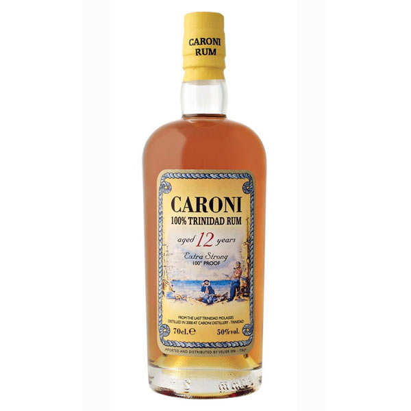 Caroni 12 yo Trinidad rum 50%