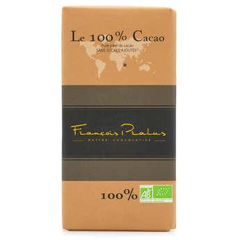 Chocolats François Pralus - Tablette de chocolat noir criollo 100% Madagascar