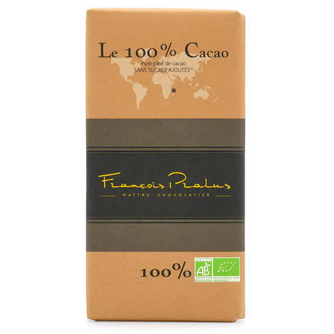 Chocolats François Pralus - Pralus Madagascar 100% Chocolate Bar