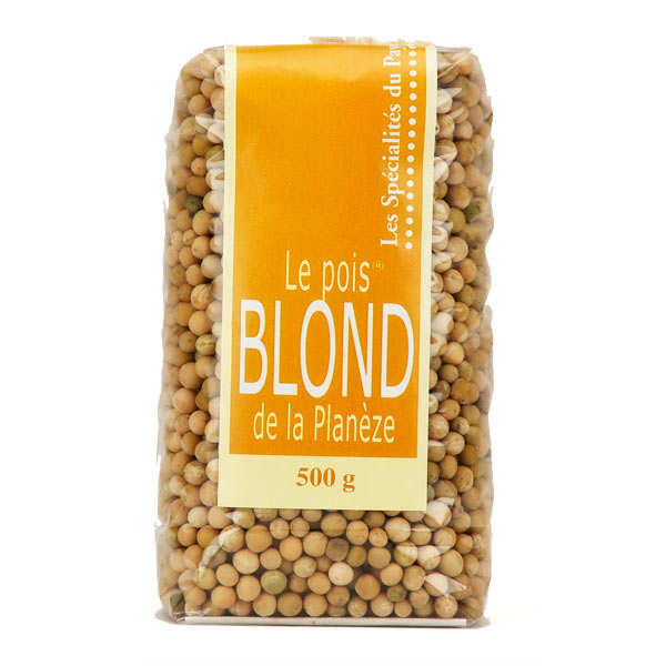 Le pois blond de la Planèze - french dried peas