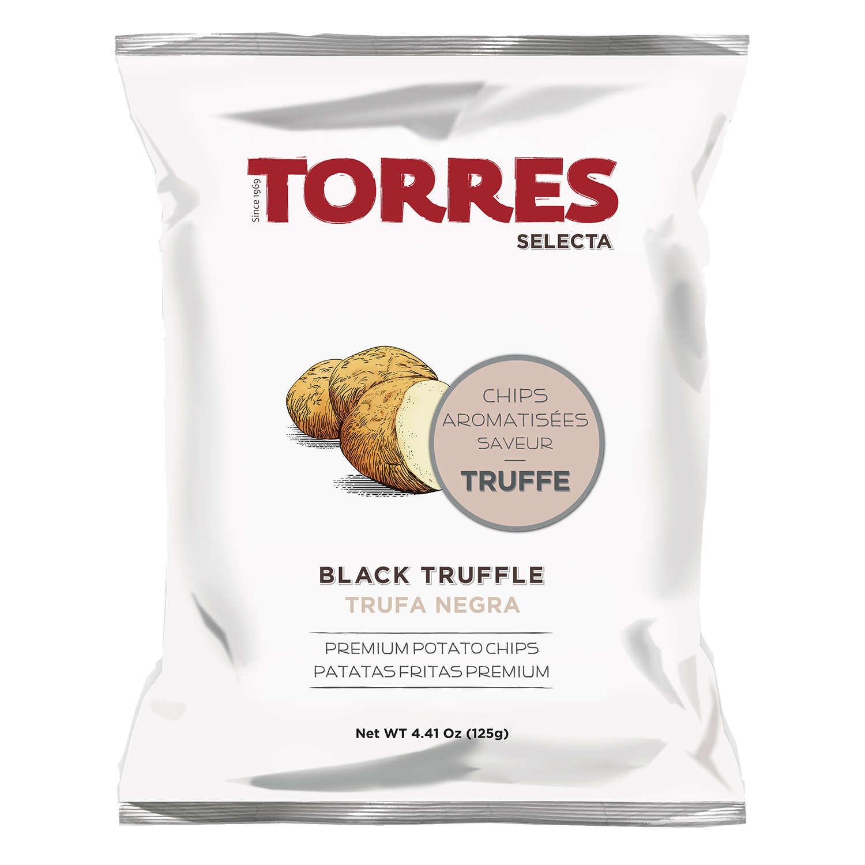 Gourmet Black Truffle Crisps