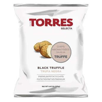 Patatas Torres - Gourmet Black Truffle Flavoured Crisps