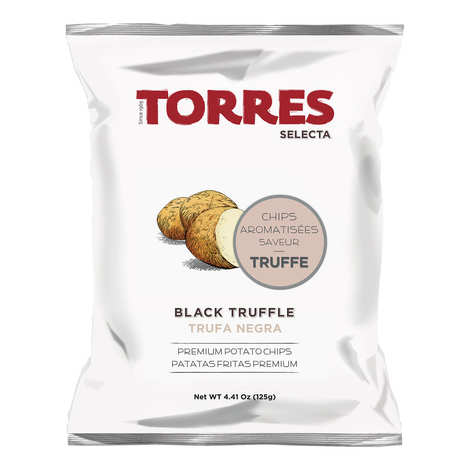 Patatas Torres - Chips gourmet saveur truffe Patatas Torres