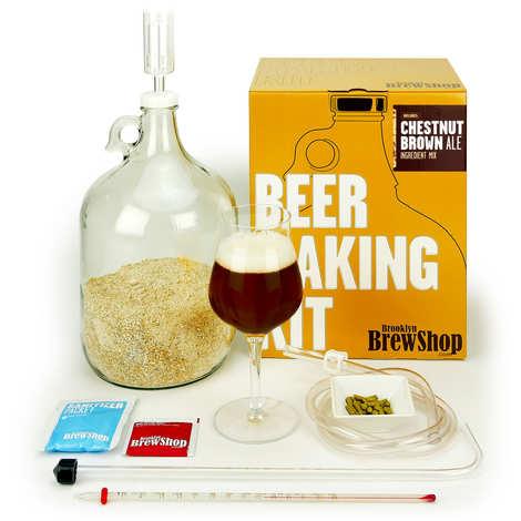 "Brooklyn Brew Shop - Beer making kits  ""Chestnut Brown Ale"""