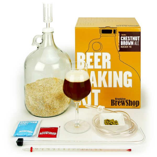 Kit de fabrication bière brune à la châtaigne