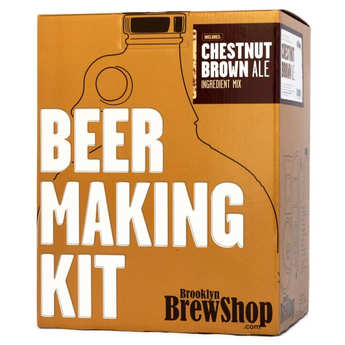 "Brooklyn Brew Shop - Beer making kits  ""Chestnut Brown Ale"""