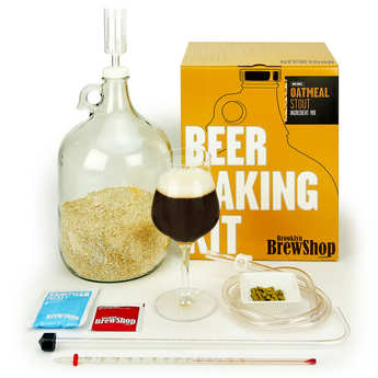 Brooklyn Brew Shop - Kit de fabrication bière brune Stout à l'avoine
