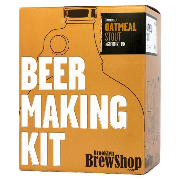Kit de fabrication bière brune Stout à l'avoine