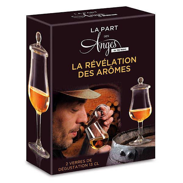 coffret 2 verres de d gustation whisky la part des anges on the rocks. Black Bedroom Furniture Sets. Home Design Ideas
