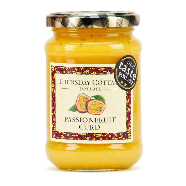 Crème de fruits de la passion anglaise à tartiner - Passionfruit curd