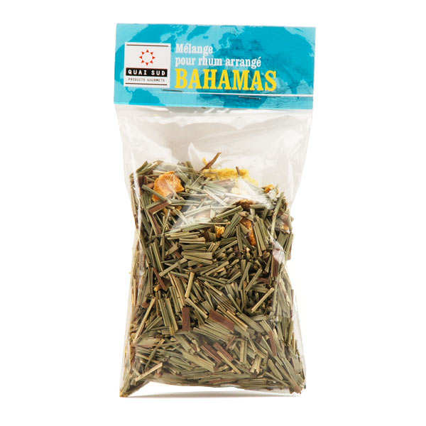 Mélange bahamas, préparation pour rhum arrangé pimenté - sachet 20g