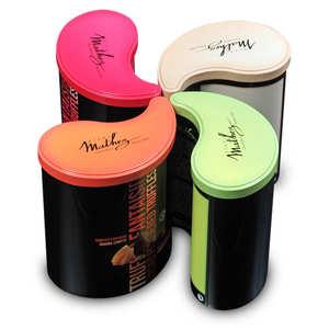 Chocolat Mathez - Les inséparables - Lot de 4 boites de truffes assorties
