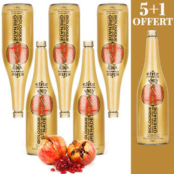 Elite Naturel - Pure organic pomegranate juice new harvest 5+1 for free