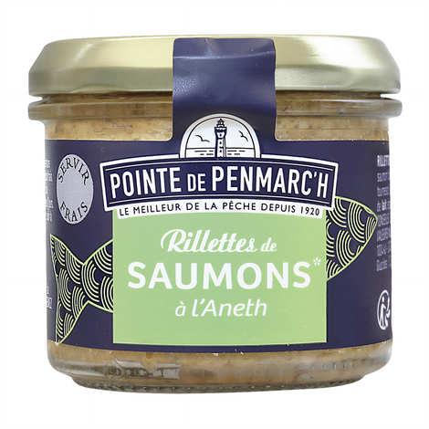 La pointe de Penmarc'h - Salmon rillette with dill
